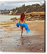 Little Mermaid On Land Acrylic Print