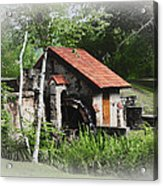 Little Mill Eastern State College - Faded Acrylic Print