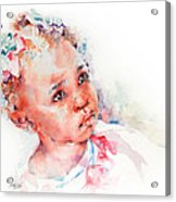 Little Miss Africa Acrylic Print