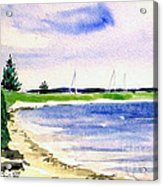 Watch Hill Cove Acrylic Print by Joan Hartenstein