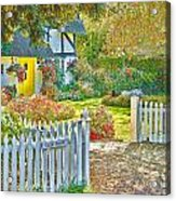 Little Newton Cottage Acrylic Print