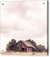 Little Old Barn In The Field - Ontario County New York State Acrylic Print