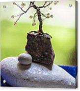 Little Pearl Tree Acrylic Print