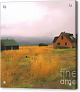 Little Pink House In The Tetons Acrylic Print