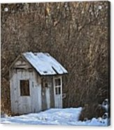 Little Play House Acrylic Print