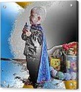 Little Prince Ninja Acrylic Print