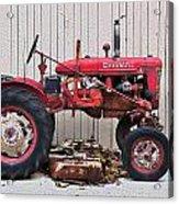 Little Red Farmall Acrylic Print