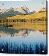 Little Red Fish Lake, Stanley, Idaho Acrylic Print