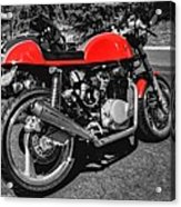 Little Red Racer 001 Acrylic Print