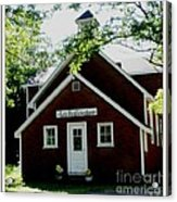 Little Red Schoolhouse Acrylic Print by Gail Matthews