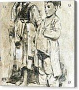 Little Refugees - Greek Orphans Acrylic Print