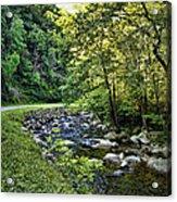 Little River Road Acrylic Print