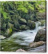 Little River Scenery E226 Acrylic Print