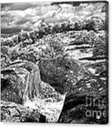 Little Roundtop Overlooking Devils Den Acrylic Print