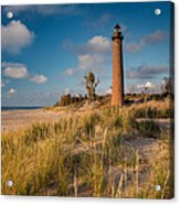 Little Sable Light Michigan Acrylic Print