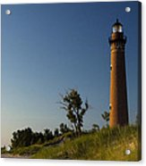 Little Sable Lighthouse By Silver Lake Michigan No.557 Acrylic Print