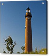 Little Sable Lighthouse On The Dune By Silver Lake Michigan No.560 Acrylic Print