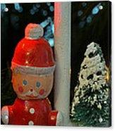 Little Santa Acrylic Print