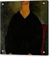 Little Servant Girl Acrylic Print by Amedeo Modigliani