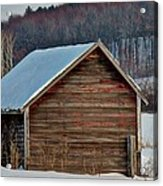 Little Shed In The Valley Acrylic Print