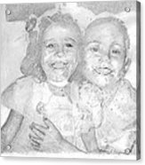 Little Sister Acrylic Print