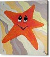 Little Starfish Acrylic Print