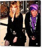 Little Stevie Van Zandt 1989 Acrylic Print