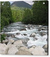 Little Susitna River Acrylic Print
