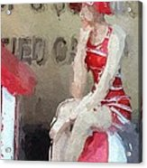 Little Toy Shop Princess Acrylic Print by Steve K