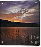 Little Washoe Sunset Acrylic Print