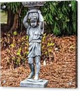Little Water Carrier Acrylic Print