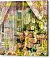 Little Witch Cottage Acrylic Print