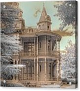 Littlefield Mansion Acrylic Print by Jane Linders