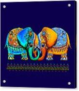 Littlest Elephant Love Links Acrylic Print