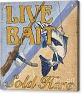 Live Bait Acrylic Print