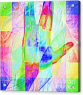 Live Long And Prosper 20150302v1 Color Squares Sq Acrylic Print