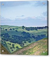 Livermore Hills Acrylic Print