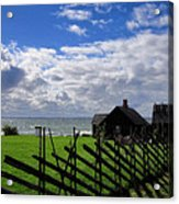 Living By The Sea Acrylic Print