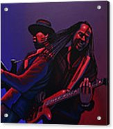Living Colour Painting Acrylic Print