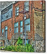 Living Downtown Up North Acrylic Print by MJ Olsen