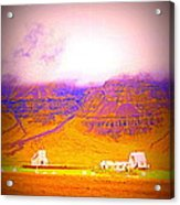 We Are Living Hillside As We Used To Do, Feeling Safe  Acrylic Print