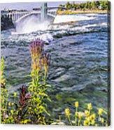 Living On The Edge Niagara Falls Acrylic Print