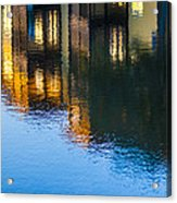 Living On The Water - 3 Acrylic Print