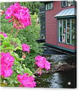 Living Over The River Acrylic Print
