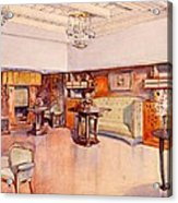 Living Room, 1905 Acrylic Print