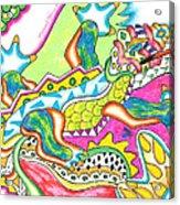 Ioli - Lizard Acrylic Print