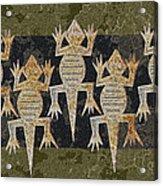 Lizards On The Wall Acrylic Print