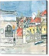 Ljubljana - Dragon's Bridge Acrylic Print