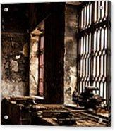 Llanberis Slate Museum - Workshop 2 Acrylic Print
