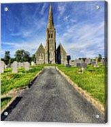 Llandinorwig Church Acrylic Print